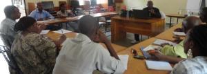 Jean Claude NKUBITO de la BBC forme dix journalistes radio au CFM