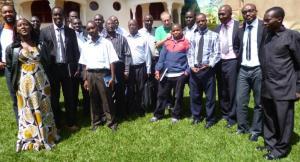 responsables des médias burundais à Muramvya